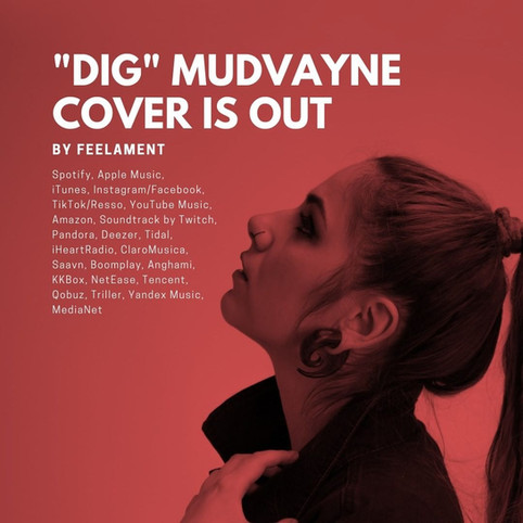 DIG | Mudvayne cover is out!