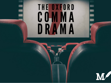 The Oxford Comma Drama