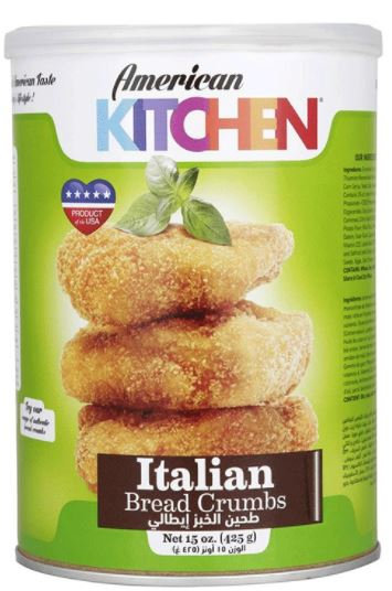 American Kitchen Bread Crumbs Italian 425g