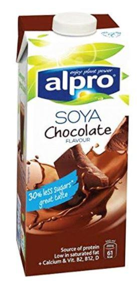 Alpro Soya Milk Chocolate 1Ltr