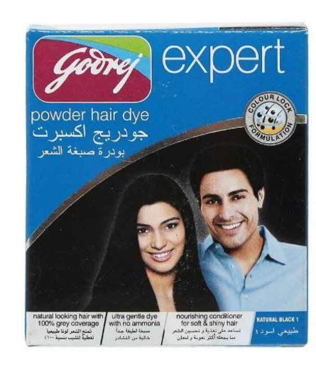 Godrej Hair Dye Powder Natural Black 10g