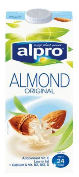 Alpro Original Almond Drink 1Ltr