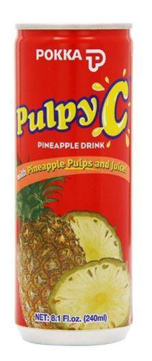 Pokka Pulpy C Pineapple Drink 240ml