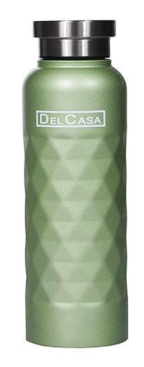 Delcasa 1000ml Stainless Steel Water Bottle