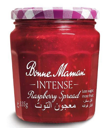 Bonne Maman Intense Raspberry Spread, 335g
