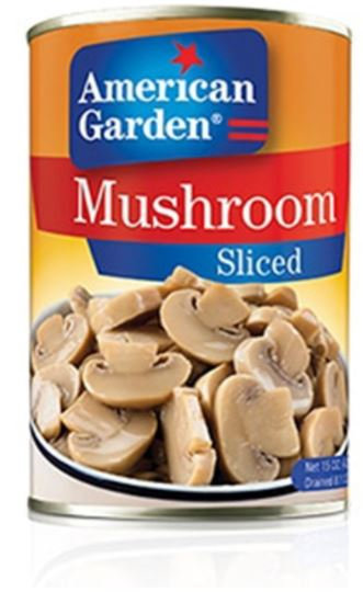 American Garden Mushroom Slice 15oz