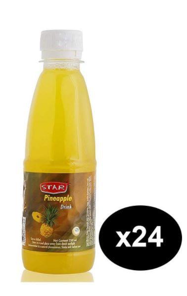 Star Pineapple Juice 250ml Pack of 24