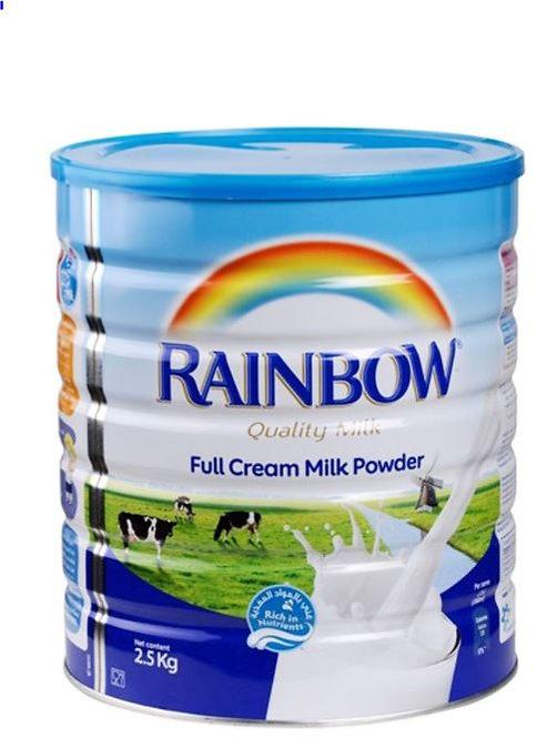 Rainbow Full Cream Milk Powder Tin 2.5kg