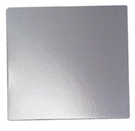 Falcon Cake Board Square Silver 12''
