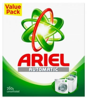 Ariel Concentrated Detergent Powder 260g