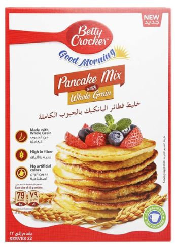 Betty Crocker Pancake Mix Whole Grain 500g