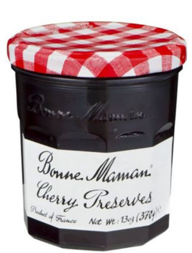 Bonne Maman Red Cherry Preserves Jam 370g