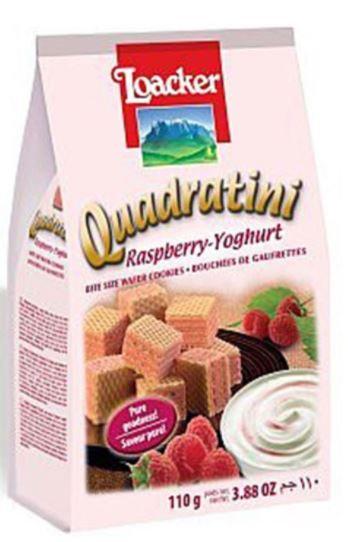 Loacker Quadratini Rasberry-Yoghurt 110g