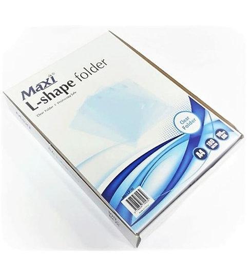 Maxi L-Shape Folder A4 180-Micron