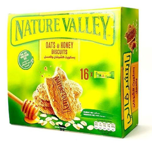 Nature Valley Biscuit Oats & Chocolate Pack of 16