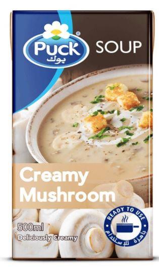 Puck Creamy Mushroom Soup 500ml