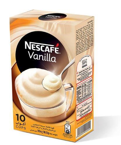 Nescafe Gold Latte Coffee 10 Mugs