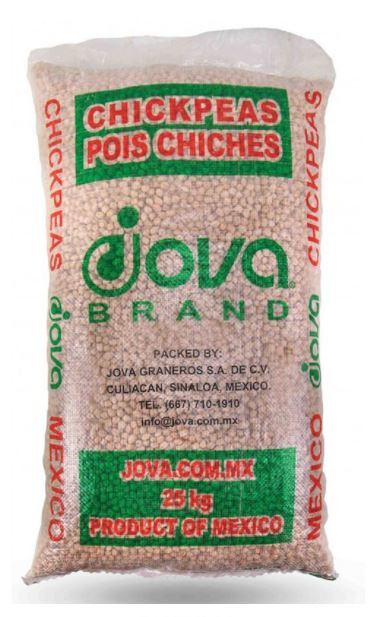 Jovo Chickpeas 14mm 25 kg Bag