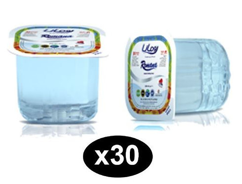 Romana Mineral Water Cup 200ml Pack of 30