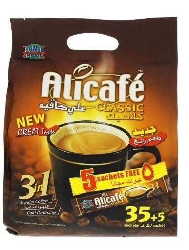 Alicafe Classic 3In1 Regular Coffee 40 Sachets