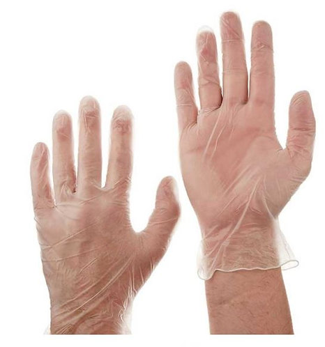 Vinyl Gloves Large Size