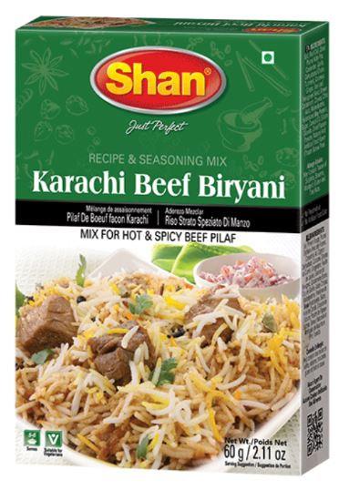 Shan Karachi Beef Biryani Masala 60g