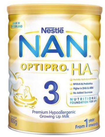 Nestle Nan 3 HA Optipro Growing Up Milk 400g