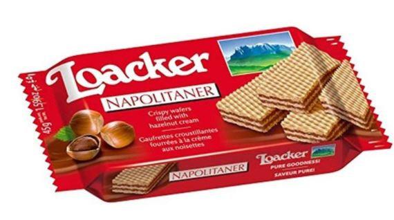 Loacker Wafer Napolitaner Packet 175g