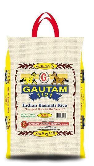 Gautam 1121 Indian Basmati Rice XXL 5kg