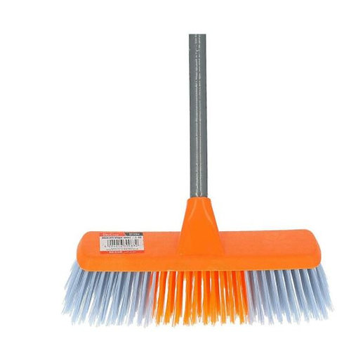 Delcasa Broom with PVC Coated Wooden Handle