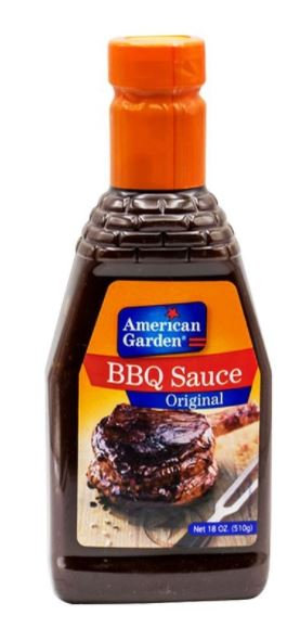 American Garden BBQ Original 18oz