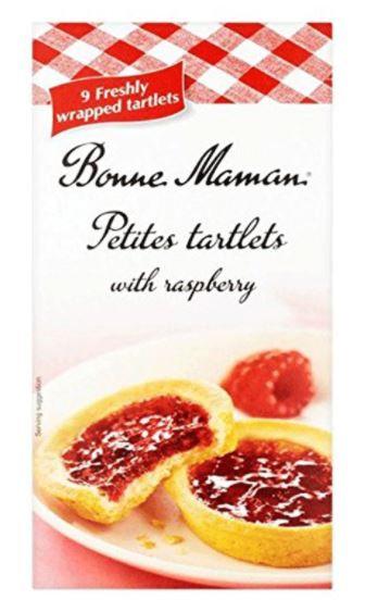 Bonne Maman Tartlets with Raspberry 135g