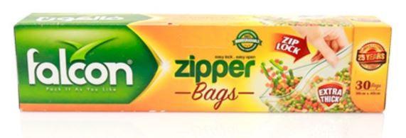 Falcon Freezer Zipper Bag 40 x 30cm