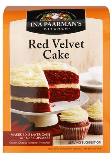 Ina Paarman's Red Velvet Cake Mix 580g
