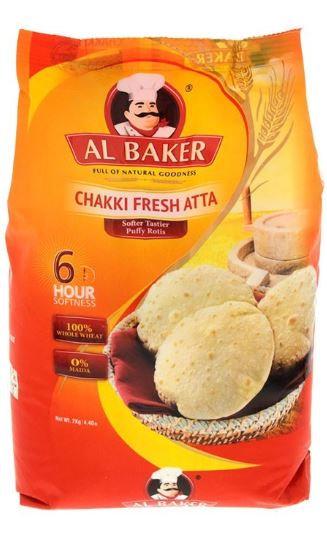 Al Baker Chakki Fresh Atta 2kg