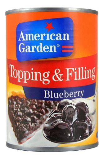 American Garden Blueberry Pie Filling 21Oz