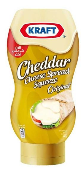 Kraft Squeeze Cream Cheese Spread 440g