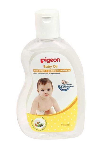 Pigeon Baby Oil 200ml