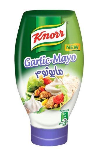 Knorr Mayonnaise Garlic-Mayo 295ml