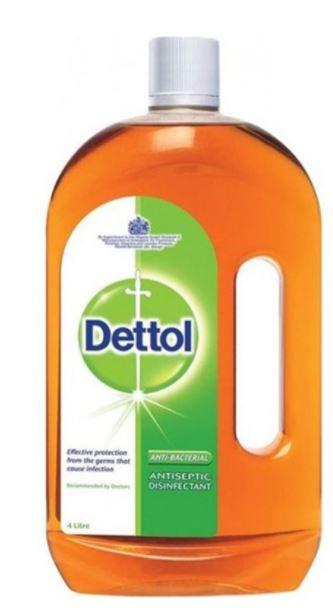 Dettol Anti-Bacterial Antiseptic Disinfectant 4L
