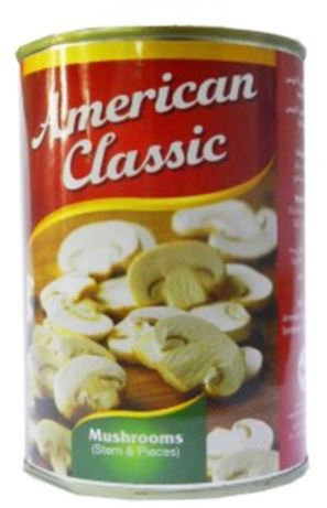 American Classic Sliced Mushroom 425g