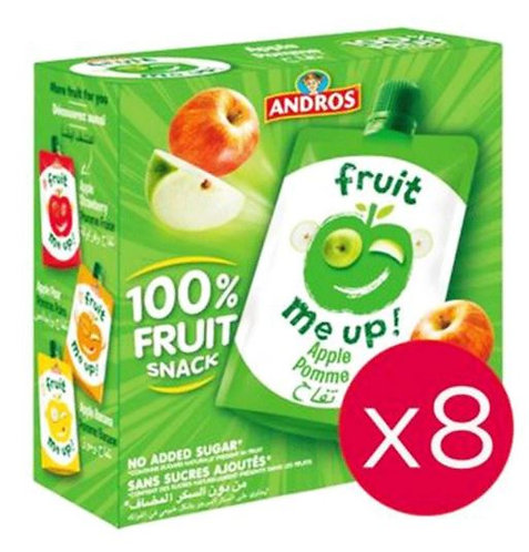 Andros Fruit Me Up Apple 90g Pack Of 8