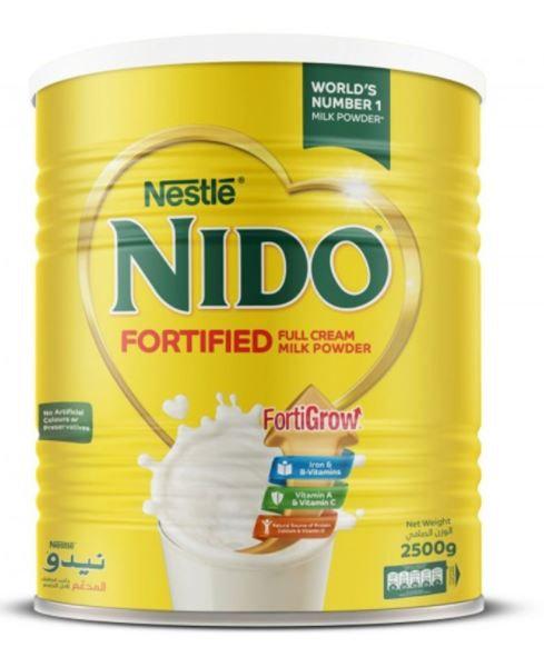 Nestle Nido Fortified Milk Powder 2.5kg