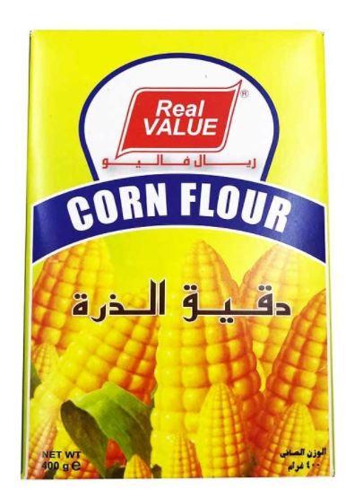 Real Value Corn Flour Powder 400g