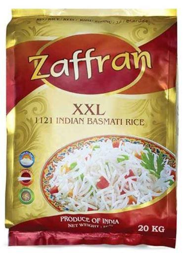 Zaffran 1121 Indian Basmati Rice 20kg