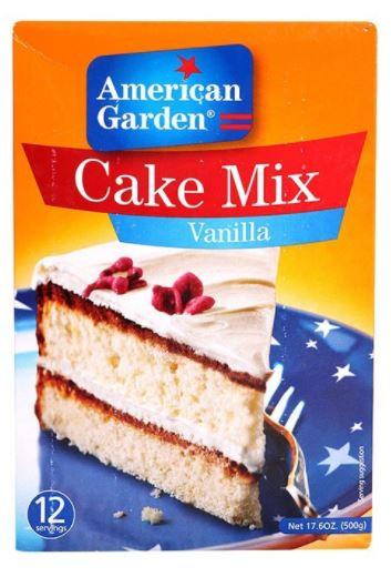 American Garden Vanilla Cake Mix 500g