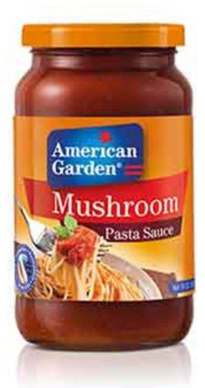 American Garden Mushroom Pasta Sauce 14oz