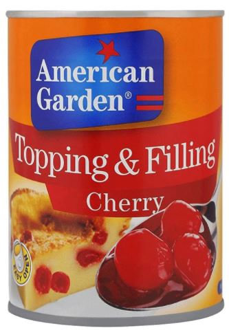 American Garden Cherry Pie Filling And Topping 21Oz