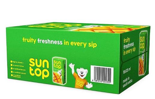 Sun Top Alphonso Mango Drink 125ml x Pack of 18