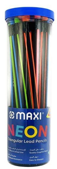 Maxi 30-Pieces Neon Pencils